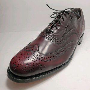 O'Sullivans | Vintage Leather Maroon Oxford Shoes